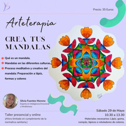 Arteterapia Taller de creación de Mandalas en Coworking Villanueva