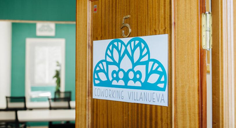 La puerta de Coworking Villanueva, siempre abierta