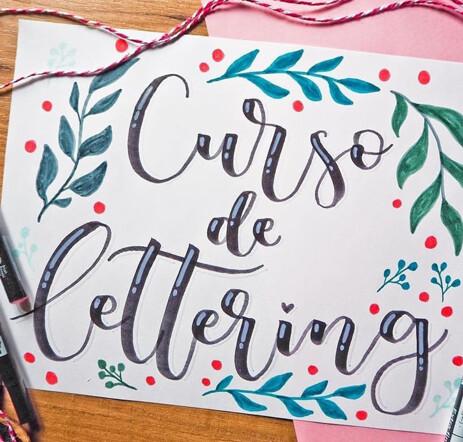 Taller de lettering en Coworking Villanuena