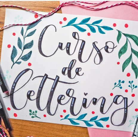 Taller de lettering en Coworking Villanuena de la Cañada